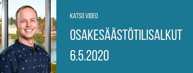 Osakesäästötilisalkut - Katso video