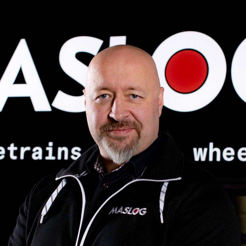 Maslog Oy:n perustaja ja yhtiön hallituksen puheenjohtaja Juha-Pekka Rintamäki.